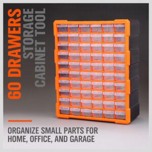 Multi-drawer cabinet for storing parts (60 Drawer)