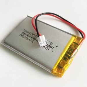 1000mAH 3.7v Lithium-ion battery Li-ion Battery With JST2.0 Connector
