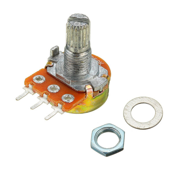 200V 0.2W 10K Ohm Potentiometer Single Linear