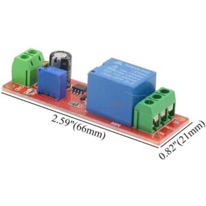 12V NE555 Timer Switch Adjustable Module