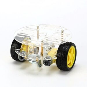 2 Wheel Round Robot Car Chassis