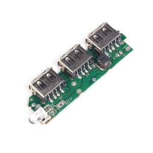 3 USB Mobile Power Bank Charger Module