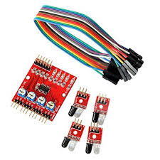 4-Way Obstacle Avoidance Car Sensor For Arduino in Pakistan
