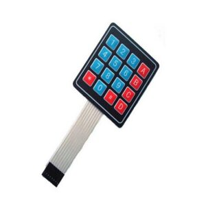 4 x 4 Matrix Keypad Membrane Switch Keypad