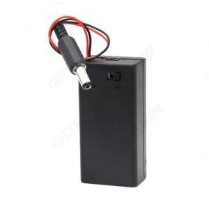 9V Battery Holder Case for Arduino