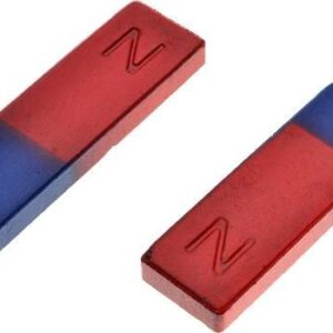 Alnico Bar Magnet Low Power Pair 75mm