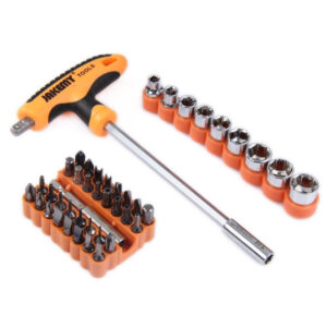 Jakemy JM-6106 Multi-function 43 in 1 T- handle Set Home Repair