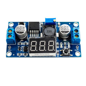 LM2596 Adjustable Voltage Converter with Display