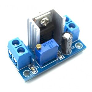 LM317 DC-DC Adjustable Step Down Buck Converter Module