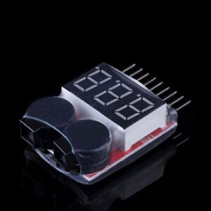 Lipo Battery Voltage Tester Volt Meter