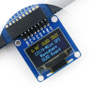 LCD Display Module 128x64 OLED 0.96 SPI BLUE