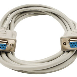 9 Pin Serial RS232 Female To Female Modem High Speed Shielded Cable