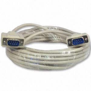 9 Pin Serial RS232 Male To Male High Speed Shielded Cable