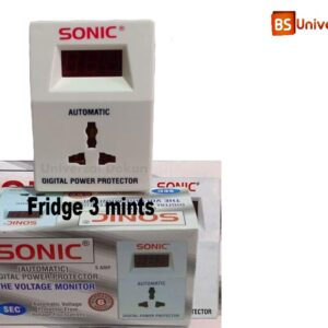 SONIC Muhafiz Switch Automatic Digital Protection Voltage Protector for Fridge 3 Minutes