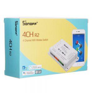 SONOFF® 4CH 4 Channel 10A 2200W 2.4Ghz Smart Home WIFI Wireless Switch