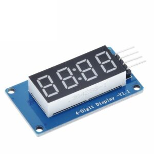 TM1637 LED Display Module For Arduino 7 Segment 4 Bits 0.36Inch Clock RED LED Module