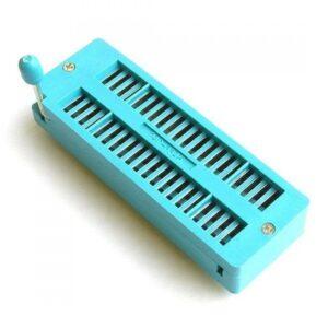 ZIF Socket 40 Pin Green