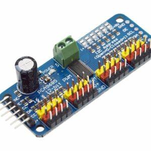 16-Channel 12-bit PWM Servo Driver (PCA9685)