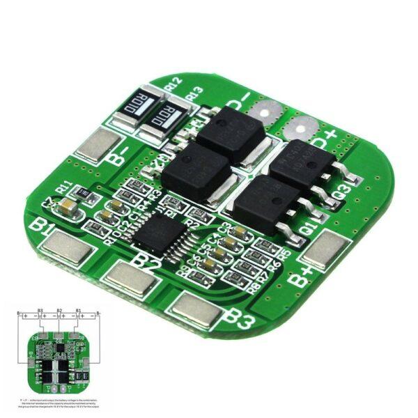 BMS 4S 20A LI-ION LITHIUM 18650 BATTERY PCM 14.8V 16.8V PROTECTION PCB BOARD
