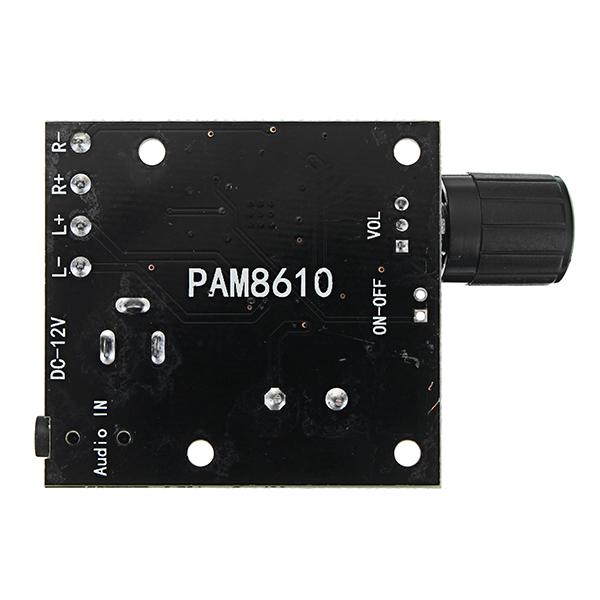 Dual Channel DC 12V PAM8610 HD Pure Digital Audio Stereo Amplifier Board