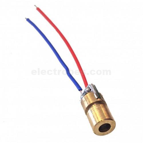 650nm 6mm 3V 5mW Laser Diode Laser Point Diode Module